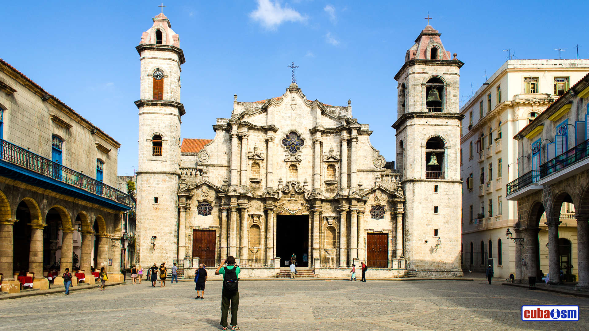 Cathedral Church in Old Havana, Cuba